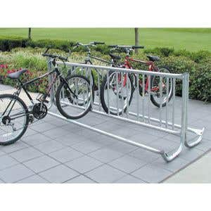8' Double Side J Frame Vertical Bike Rack