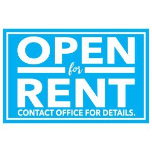 Garage Door Magnet - Open for Rent