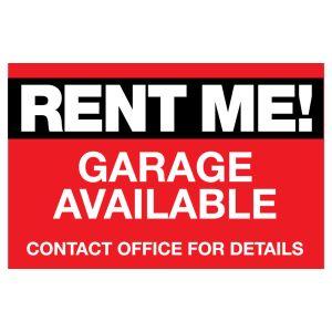Garage Door Magnet - Rent Me