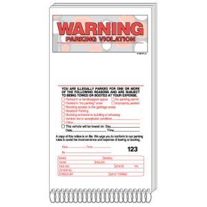 Violation Book