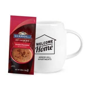 Custom Mug with Hot Cocoa