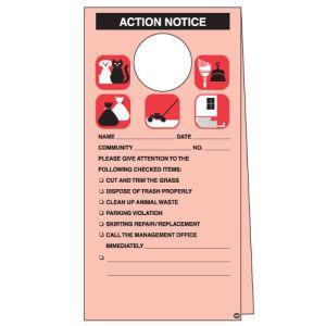 Door Hanger - Action Notice