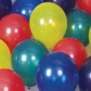 "17"" Latex Balloons - Jewel Colors"