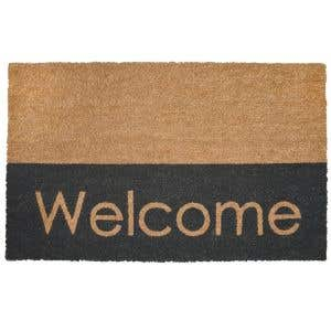 Coco Door Mat - Modern Welcome