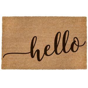 Coco Door Mat - Hello