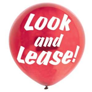 Message Balloon-Look and Lease