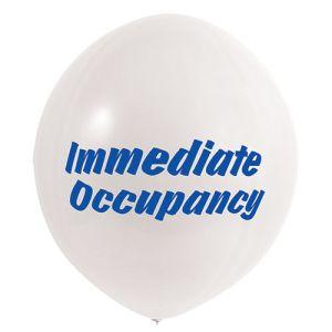 Immediate Occupancy