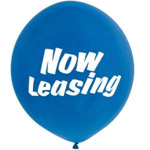 Message Balloon-Now Leasing