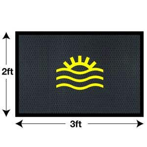 Custom Rubber Floor Mats - Small - 2' x 3'