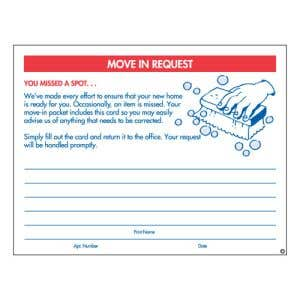 Move In Request Form