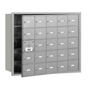 Horizontal Mailbox - 25 Boxes