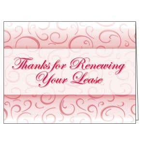 Thanks for Renewing Card - Sophisticated