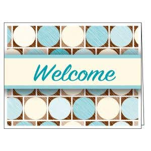 Welcome Card - Circles