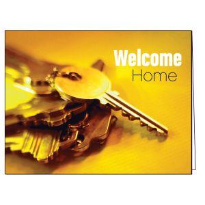 Welcome Card - Set of Keys