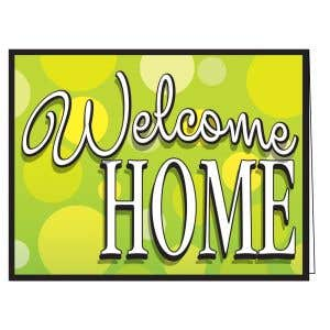 Welcome Card - Bubbles