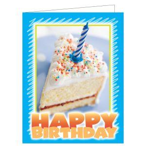 Happy Birthday Card - Cake