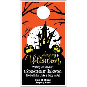 Halloween Door Hanger - Spooktacular Greetings