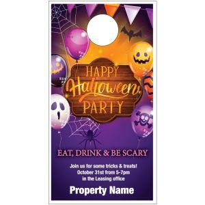 Party Door Hanger - Happy Halloween