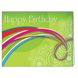 Happy Birthday Card - Contemporary