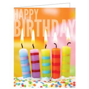 Happy Birthday Card - Birthday Candles