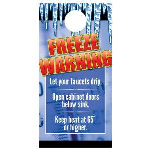 Door Hanger - Freeze Warning