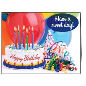 Happy Birthday Card - Sweet Birthday