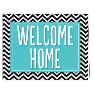 Welcome Card - Chevron
