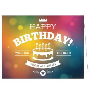 Happy Birthday Card - Make a Wish