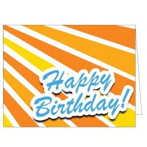 Happy Birthday Card - Bright Surprise