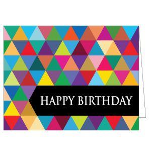 Happy Birthday Card - Modern Birthday