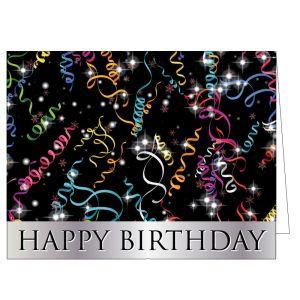 Happy Birthday Card - Celebrate