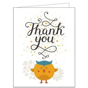Thank You Card - Sweet Tweet
