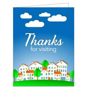 Thanks for Visiting Card - Neighbors