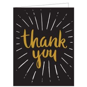 Thanks for Renewing Card - Bursting with Thanks