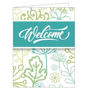 Welcome Card - Garden Delight