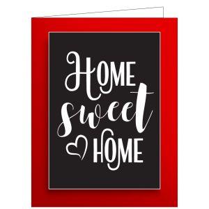 Welcome Card - Home Sweet Home