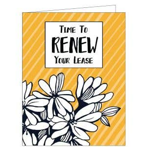 Time to Renew Card - Golden