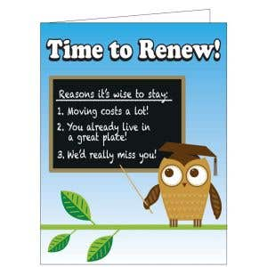 Time to Renew Card - Wise to Renew