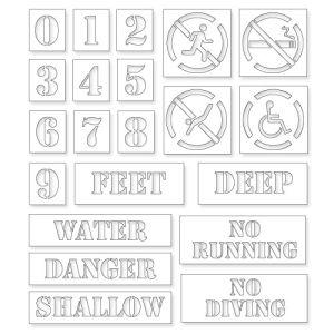 Pool Stencil Kit
