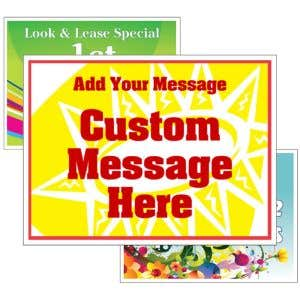 Bandit Signs - Custom - 2 Message Small/Large