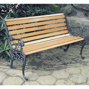 Classic Cast Iron Bench