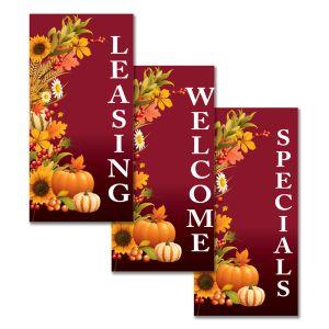 Boulevard Banners - Autumn Harvest