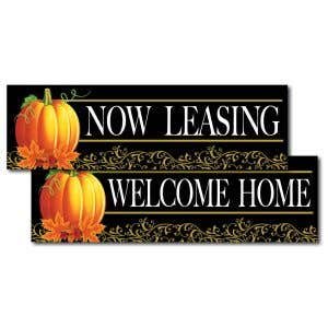 Fall into leasing with seasonal banners!