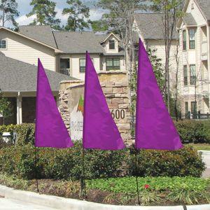 Breeze Flags - Purple