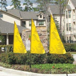 Breeze Flags - Yellow
