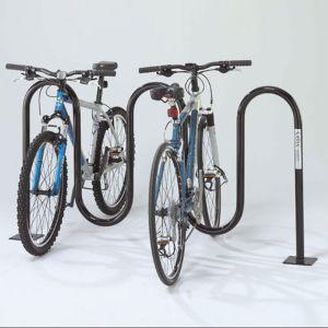 Bike Rack - Deluxe Wave - Above Ground - 7 Bikes