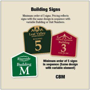 Custom Building Signs