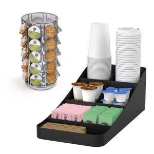 Coffee Station Kit - Small Caddy with Pod Carousel