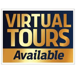 Bandit Sign - Golden - Virtual Tours Available