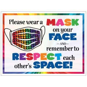 Bandit Sign - Respect Space
